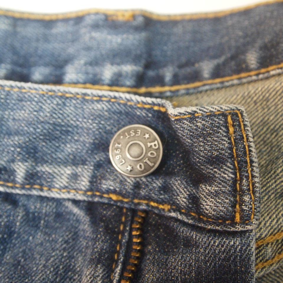 [w30] 90s Polo Ralph lauren 5ポケット デニムパンツ メキシコ製 ポロ ラルフローレン RRL ジーンズ ビンテージ_画像7