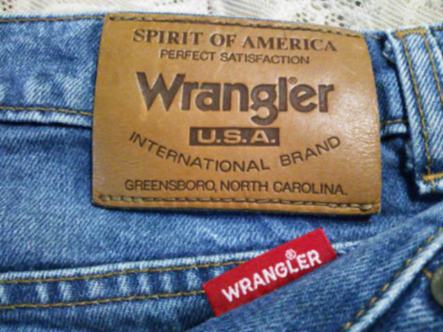 22452a86 o delivery old clothes beautiful goods 80's Wrangler USA INTERNATIONAL  BRAND W29 Wrangler slim thin tight