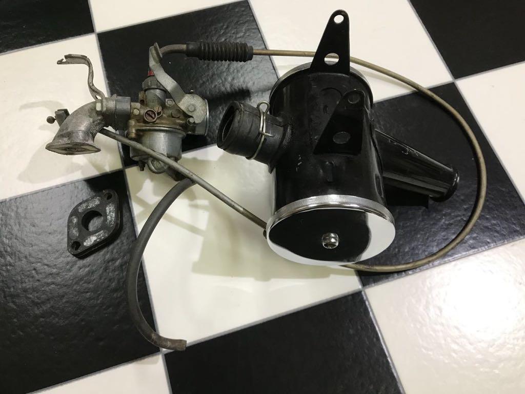 ホンダモンキー Z50A Z50Z 当時物 純正キャブレター エアクリーナー USED 美品 アクセルワイヤー!