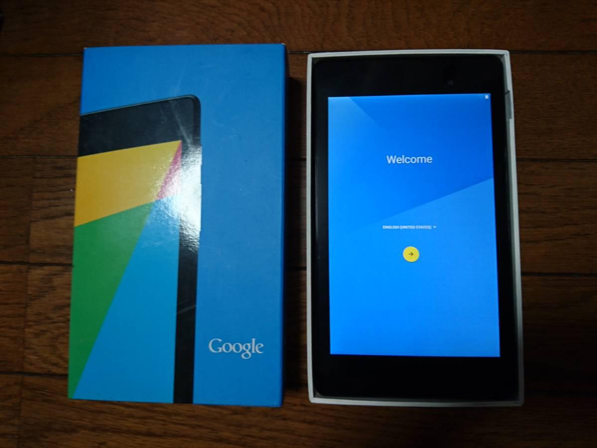 Nexus7 ケース付き 2013 16GB Wi-Fiモデル