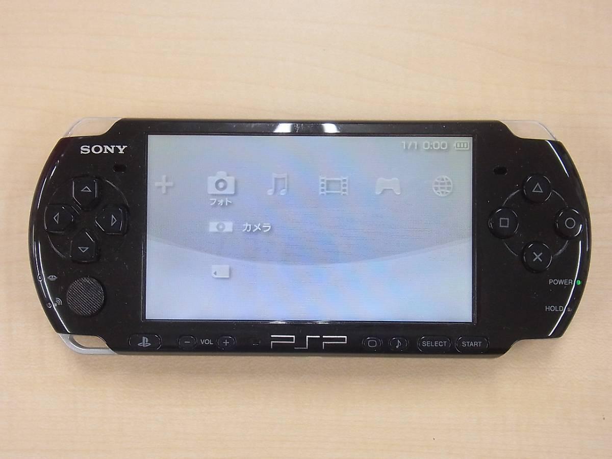 μX8 SONY PSP-3000 ピアノ・ブラック 送料510円