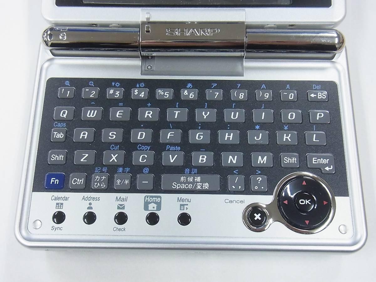μJ4 シャープ パーソナルモバイルツール Zaurus SL-C3200 SHARP ジャンク 送料510円_画像4