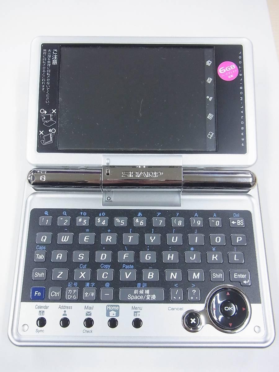 μJ4 シャープ パーソナルモバイルツール Zaurus SL-C3200 SHARP ジャンク 送料510円_画像2