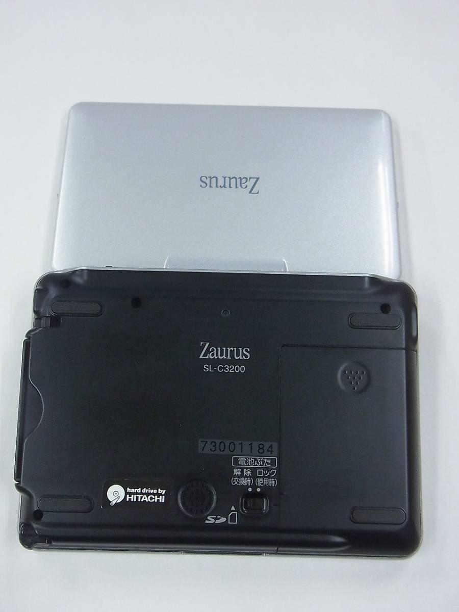 μJ4 シャープ パーソナルモバイルツール Zaurus SL-C3200 SHARP ジャンク 送料510円_画像5