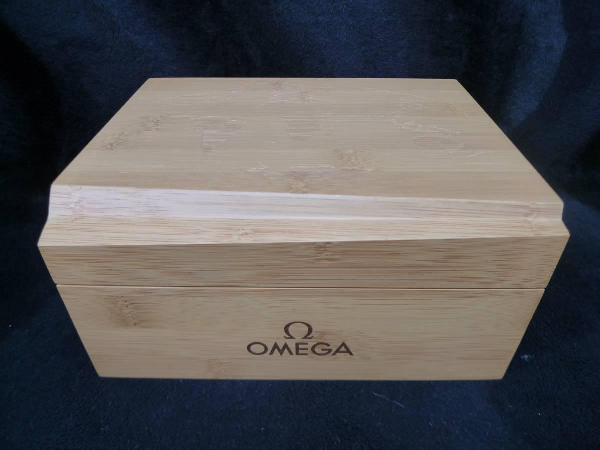 李1258 中古 空き箱 OMEGA オメガ シーマスター プラネットオーシャン 空き箱_画像2