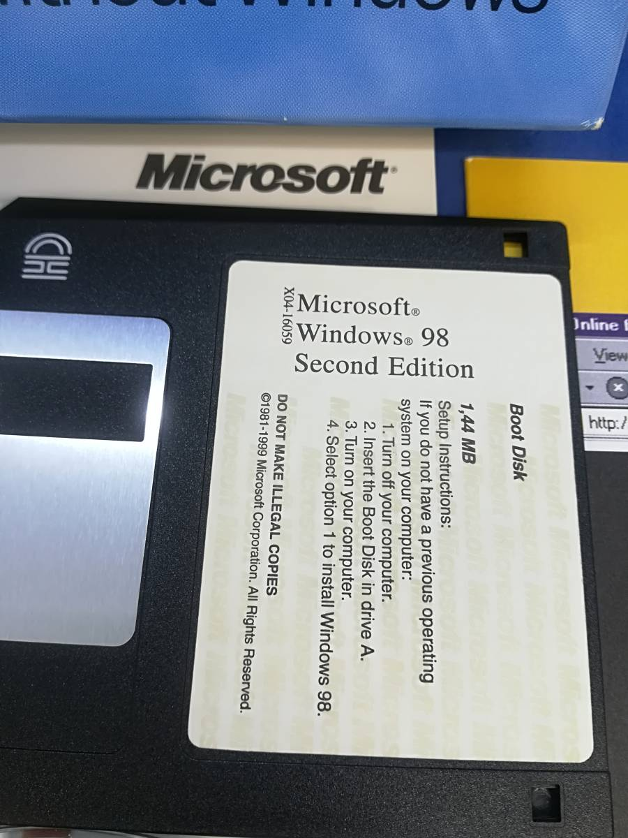 0213212018 Microsoft Windows 98 for PCs without Windows