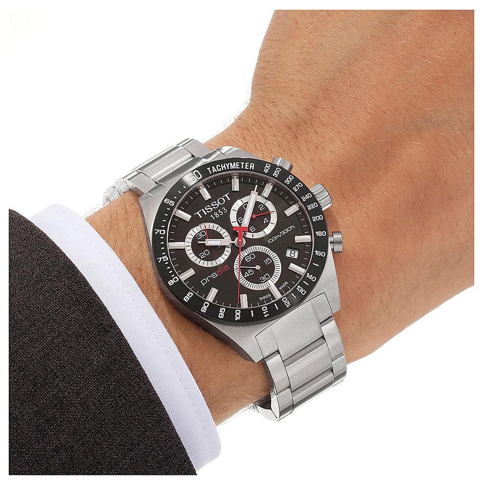【1年保証】1円~≪新品≫ティソ TISSOT 腕時計 Tスポーツ PRS516 クロノ T044.417.21.051.0_画像5