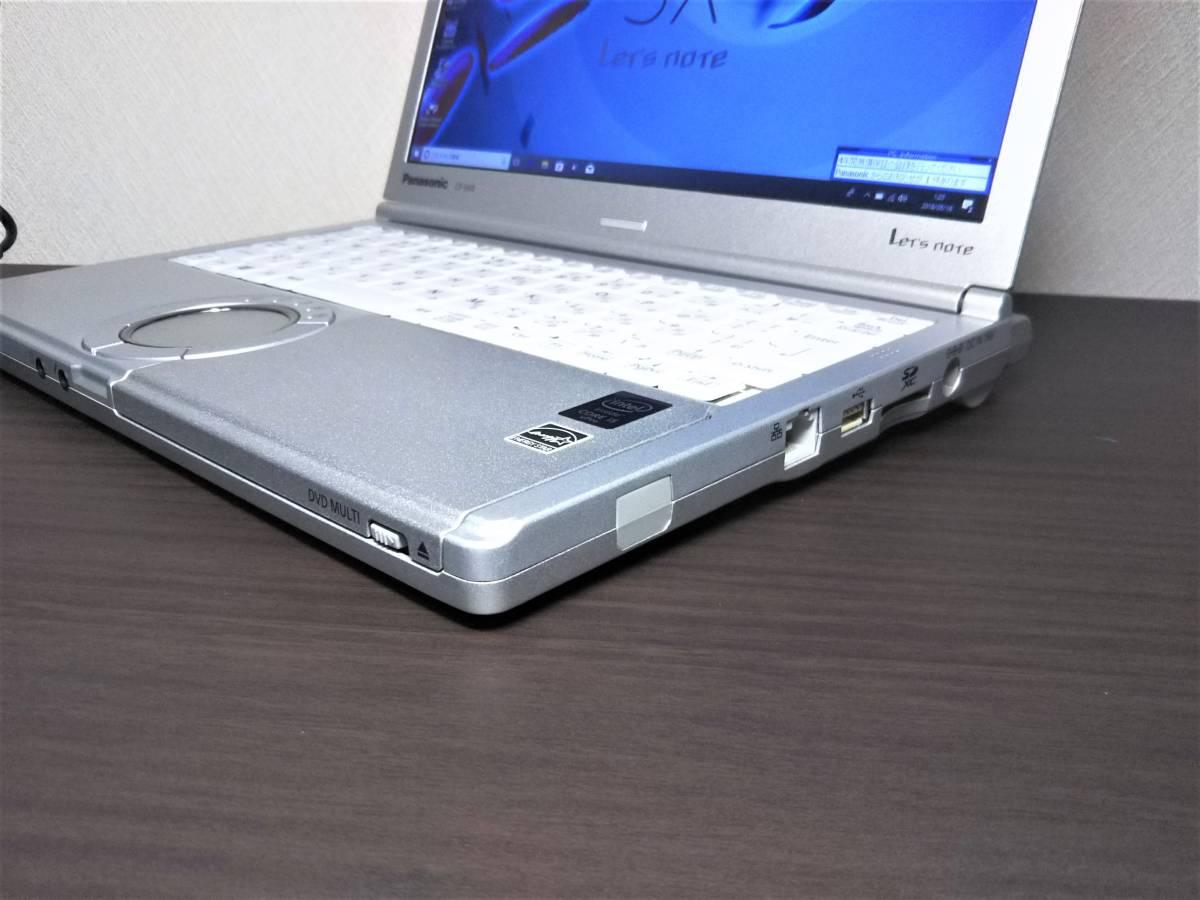 レッツノート CF-SX4EDHCS  新品大容量SSD512GB COREi5 8GB W10Pro Bios1800時間以下_画像3