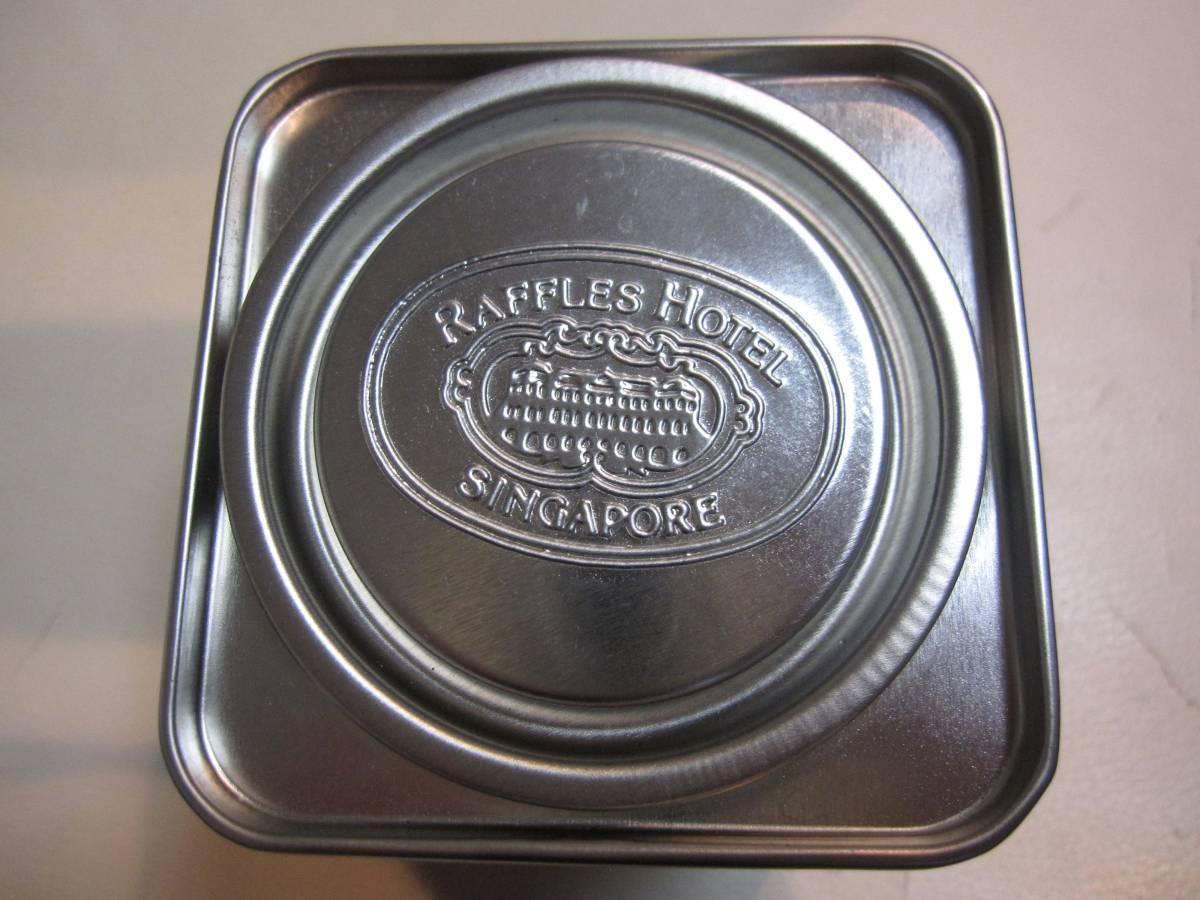 Raffles Hotel シンガポールラッフルズホテルのお紅茶の空き缶_画像2