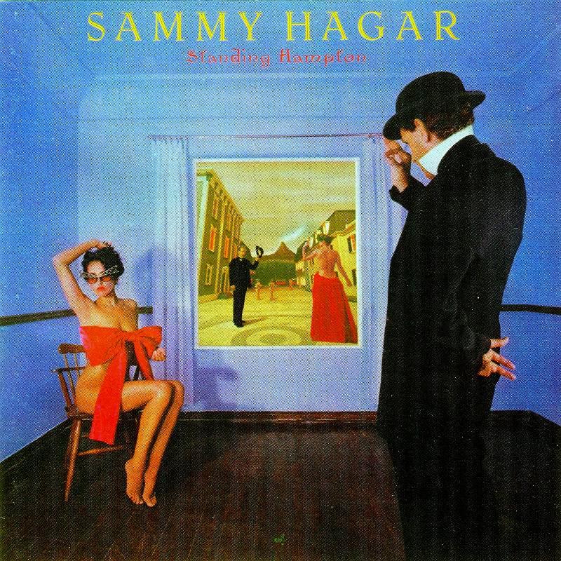 ◆◆SAMMY HAGAR◆STANDING HAMPTON 81年作 サミー・ヘイガー スタンディング・ハンプトン 即決 送料込◆◆_画像1