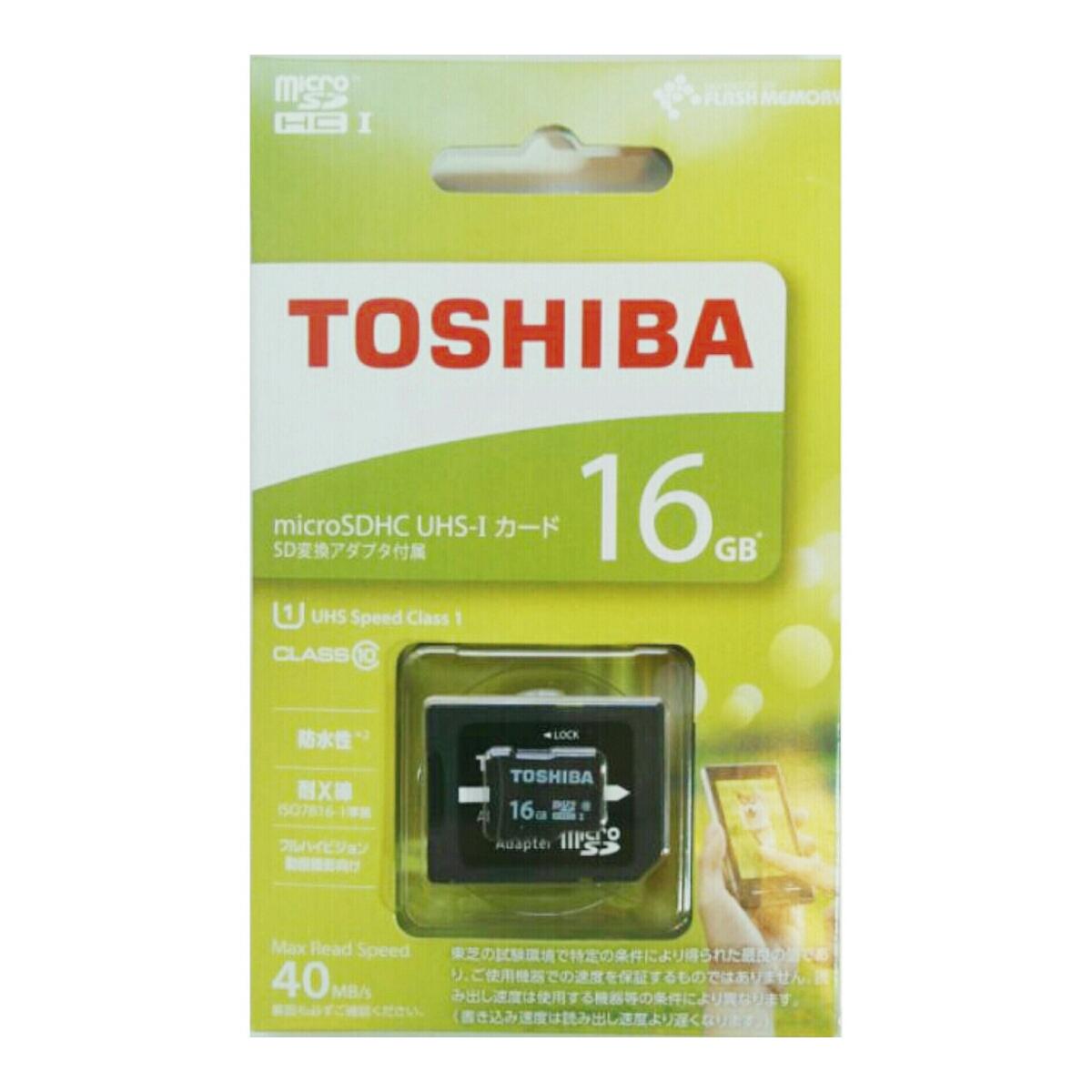 microSDHCカード16GB (東芝)