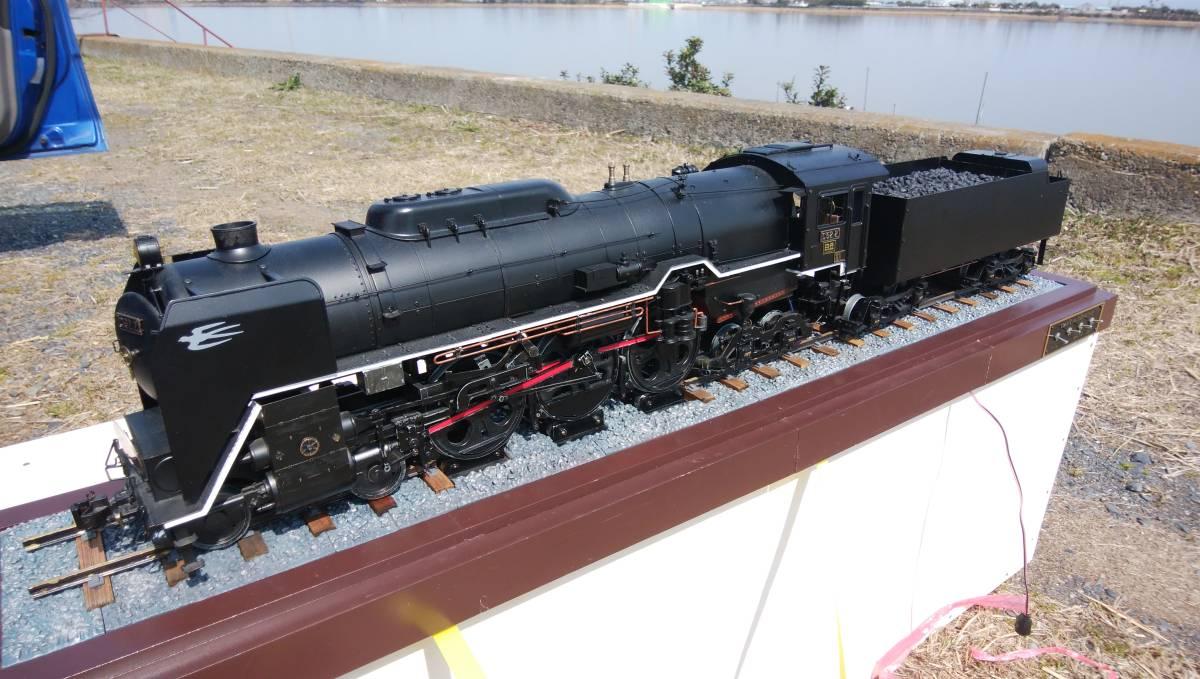 デアゴスティーニ「蒸気機関車C62を作る」完成品