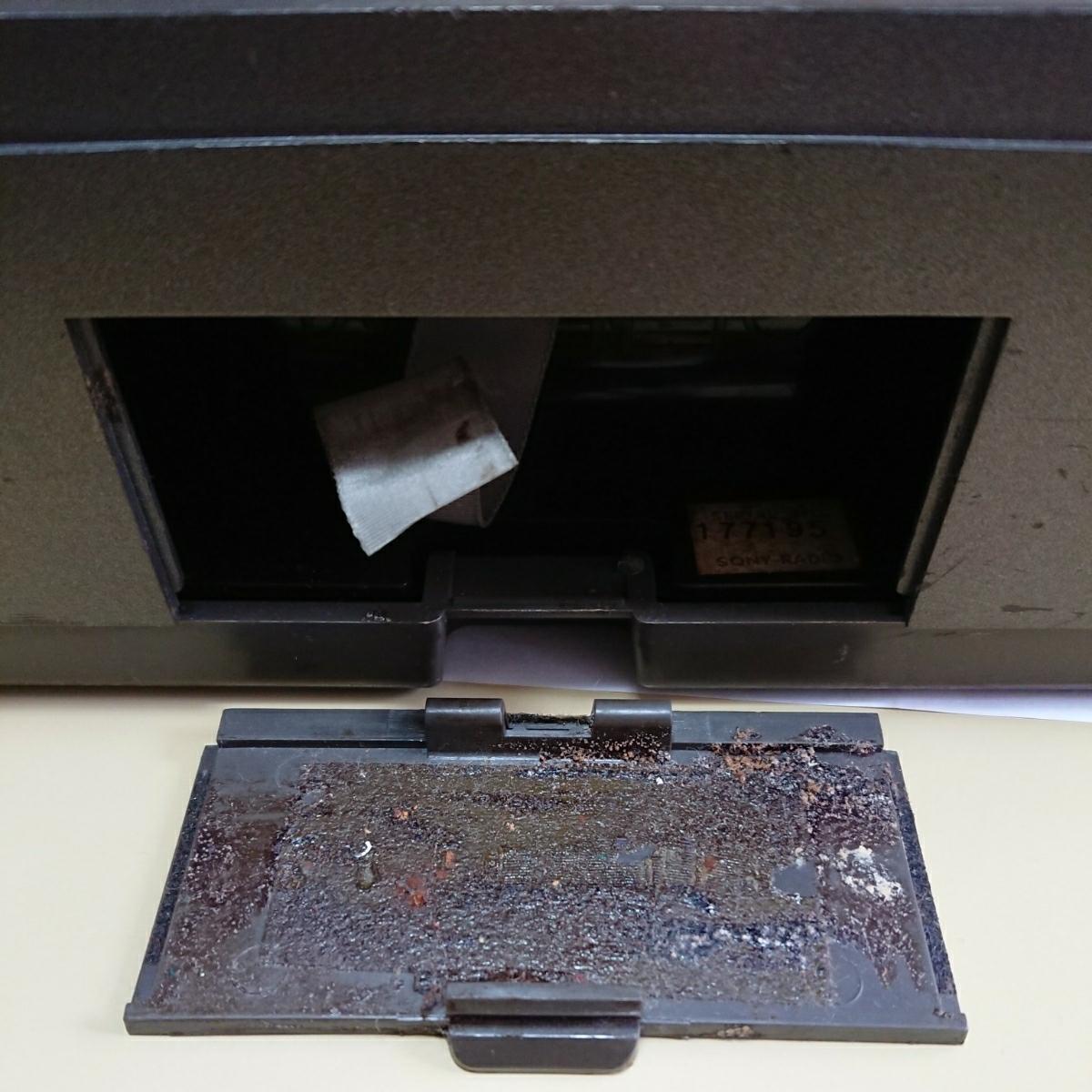 1円~ SONY ソニー スカイセンサー ICF-5900 ACアダプター付き 通電確認済_画像5