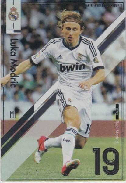 ◆パニーニフットボールリーグ STAR+ ルカ・モドリッチ/レアル・マドリー PFL02-045