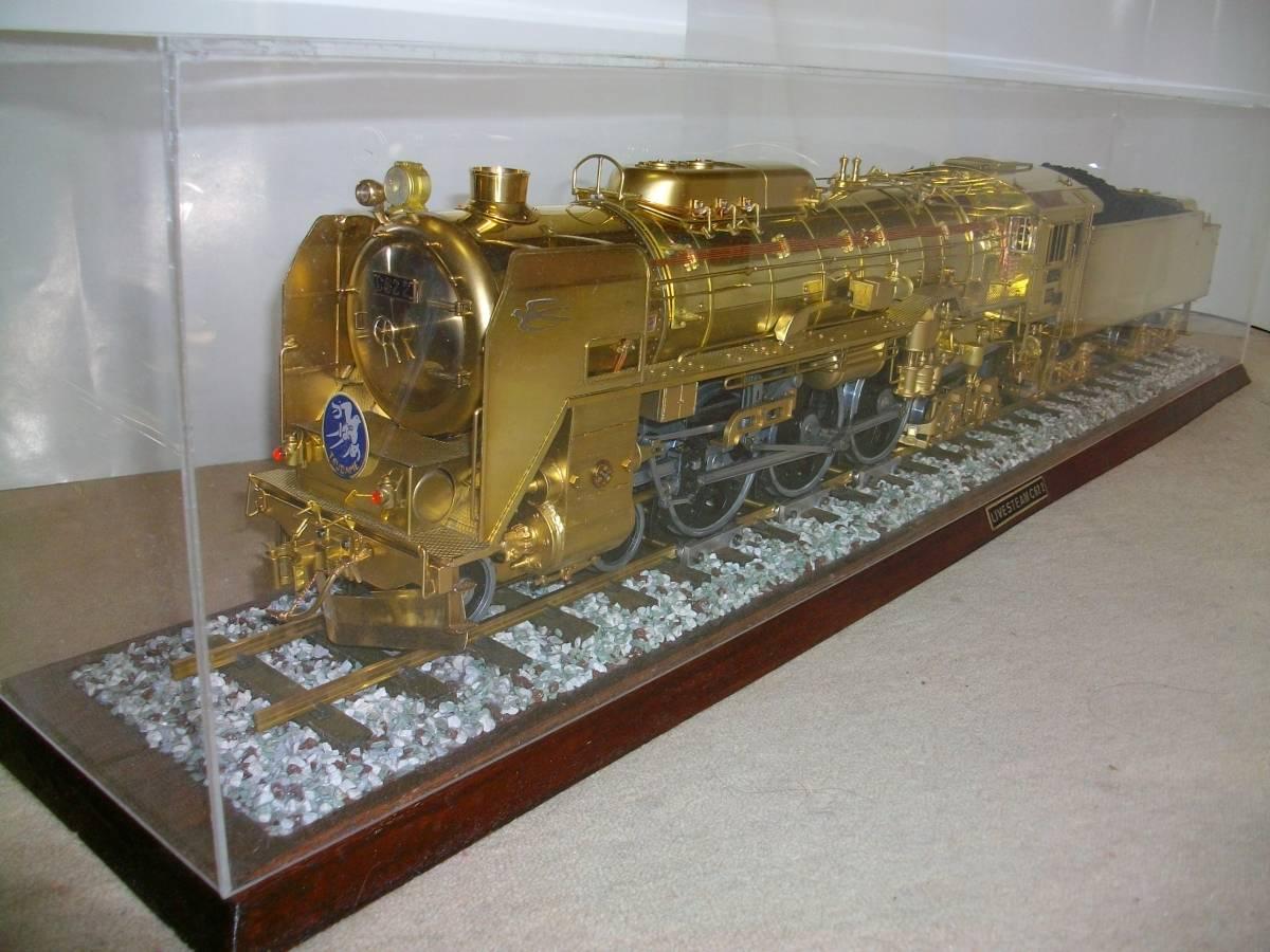 デアゴスティーニC62にライブスチームエンジンを搭載しました(ガス焚き)