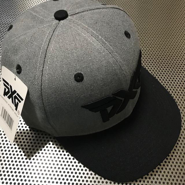 PXG PXG PXG  0811 キャップ 新品 !!! グレー・黒