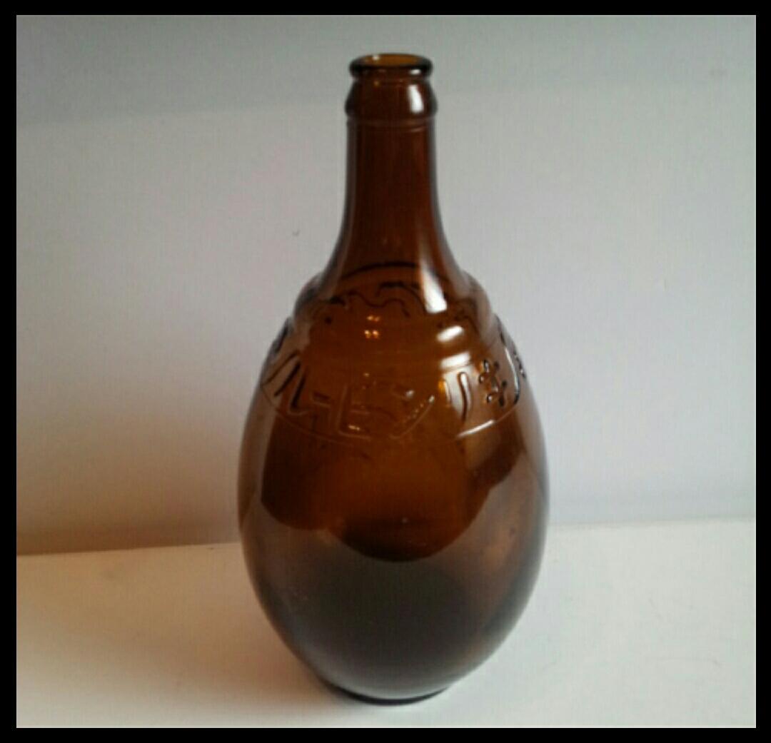 昭和レトロ 戦前キリンビール空瓶 麒麟 古いガラス瓶 ビン ビンテージ アンティーク雑貨_画像2