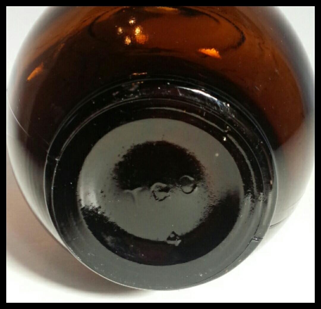 昭和レトロ 戦前キリンビール空瓶 麒麟 古いガラス瓶 ビン ビンテージ アンティーク雑貨_画像10