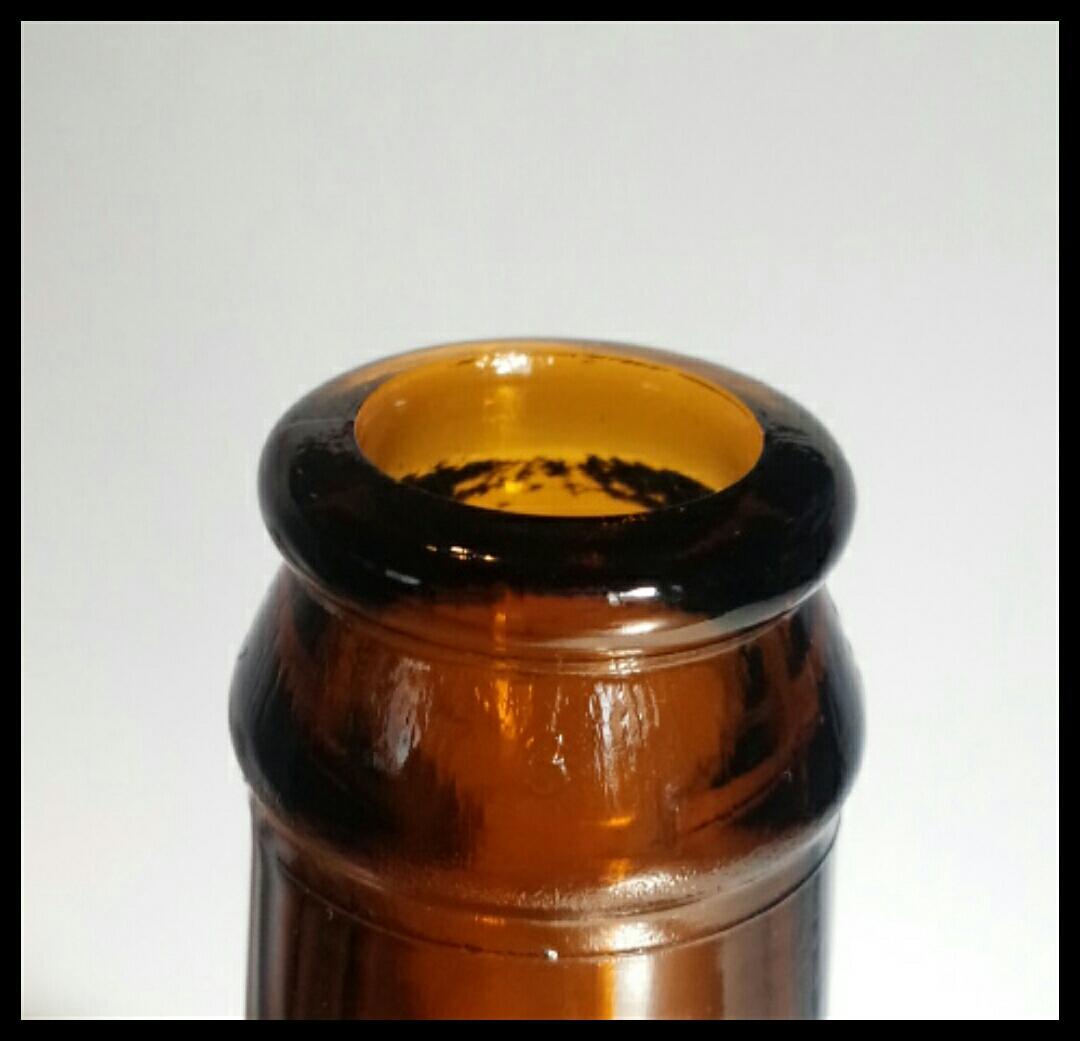 昭和レトロ 戦前キリンビール空瓶 麒麟 古いガラス瓶 ビン ビンテージ アンティーク雑貨_画像3