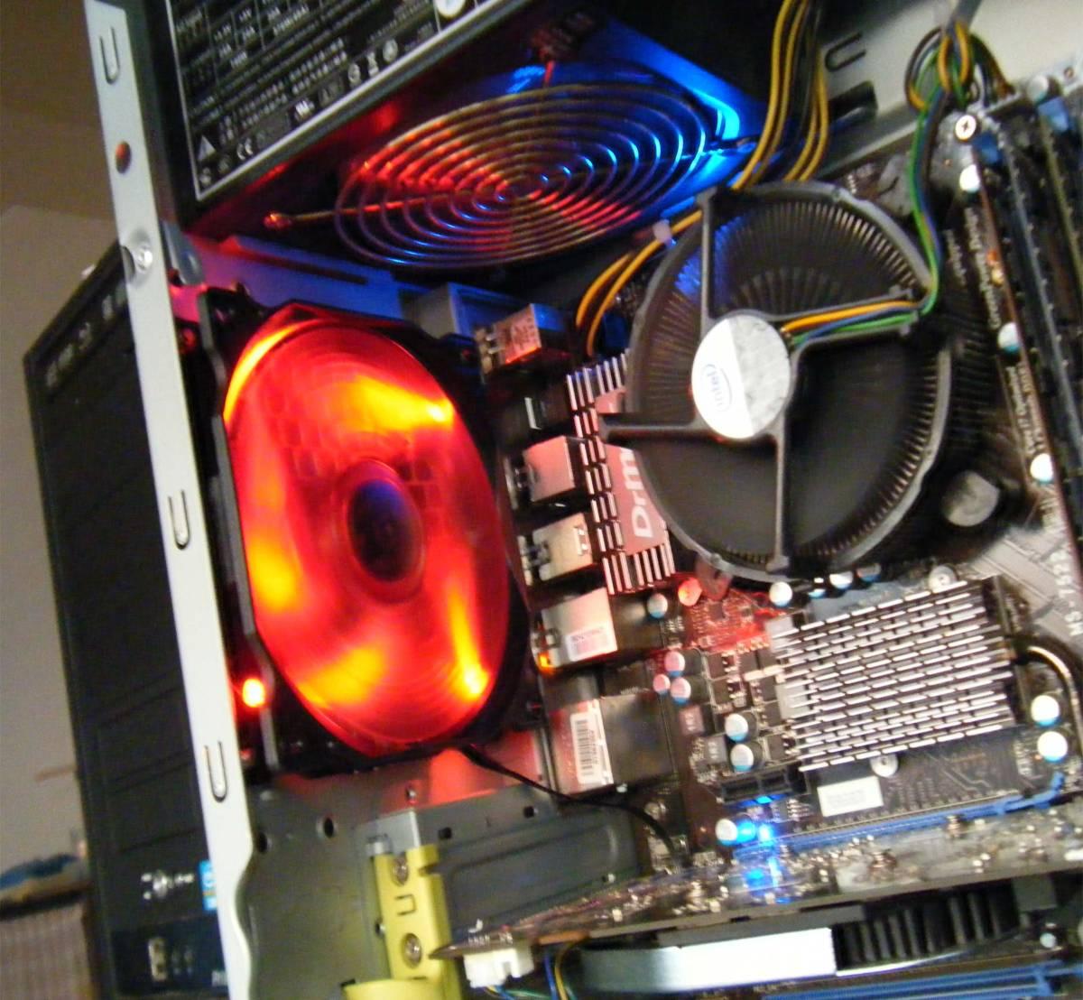 ◆ 秒速/i7 920/自作PMSI X58 ProE/新品SSD 160GB/HDD 1TB/Office2016/Win10Pro ◆_画像3