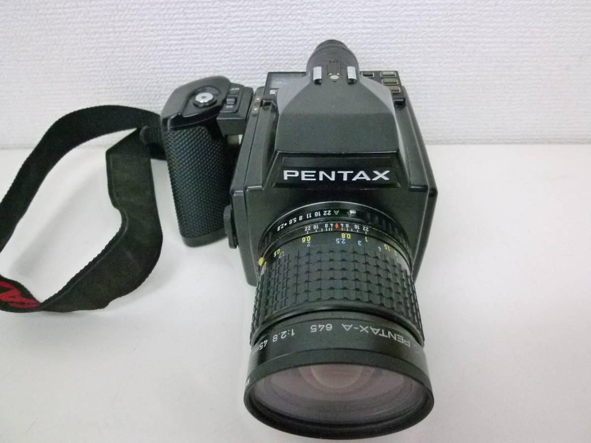 ☆PENTAX 645+SMC PENTAX-A 645 1:2.8 45㎜☆