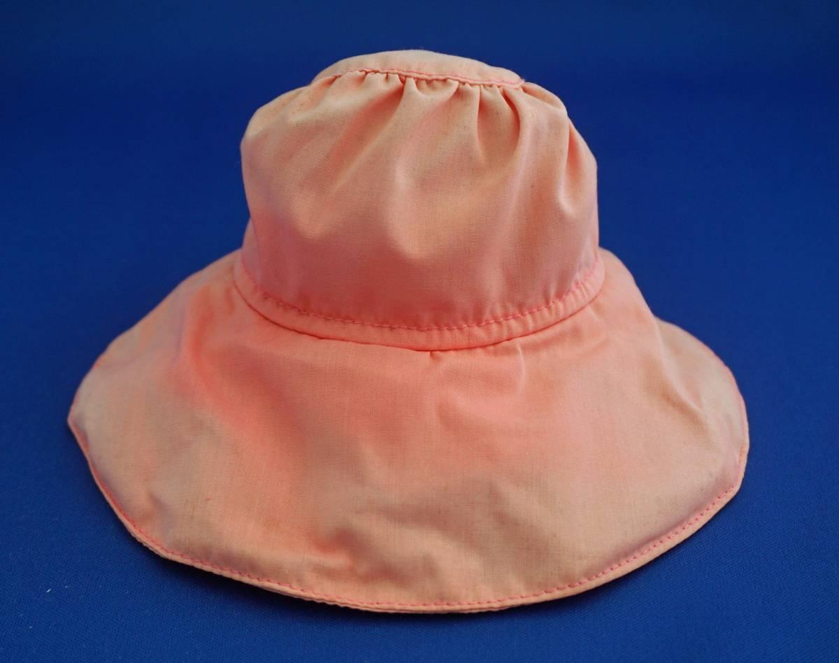 お帽子の日焼け