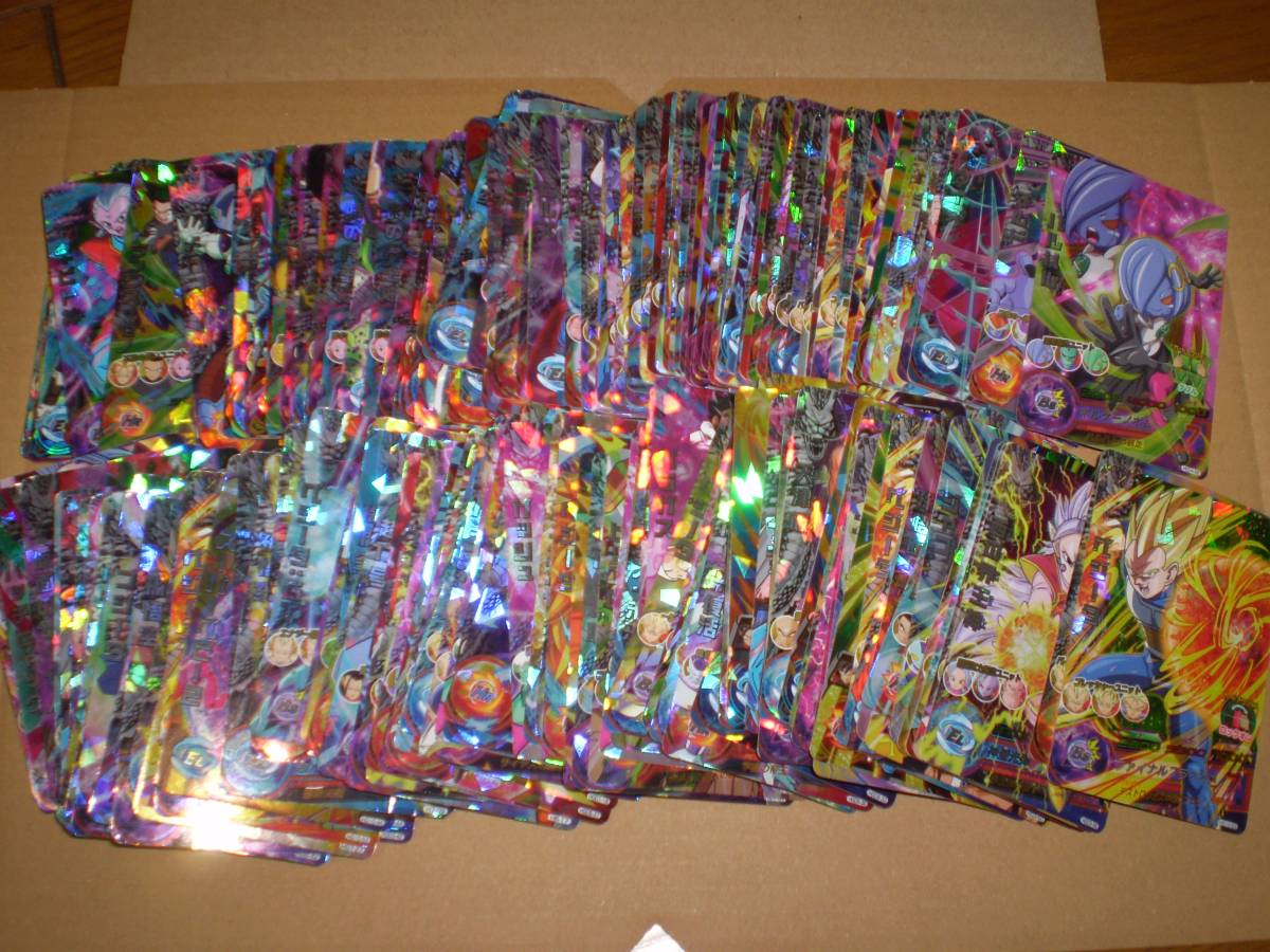 DBH ドラゴンボールヒーローズ 大量まとめて 約960枚セット SR約680枚・CP約270枚・P10枚・UR2枚_画像6