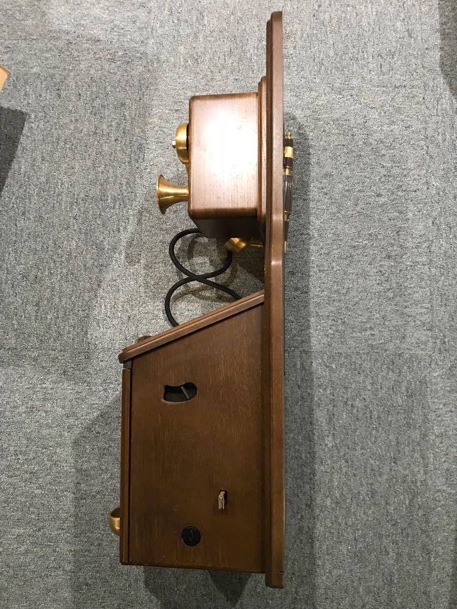 アンティーク風公衆電話機 ジャンク_画像3