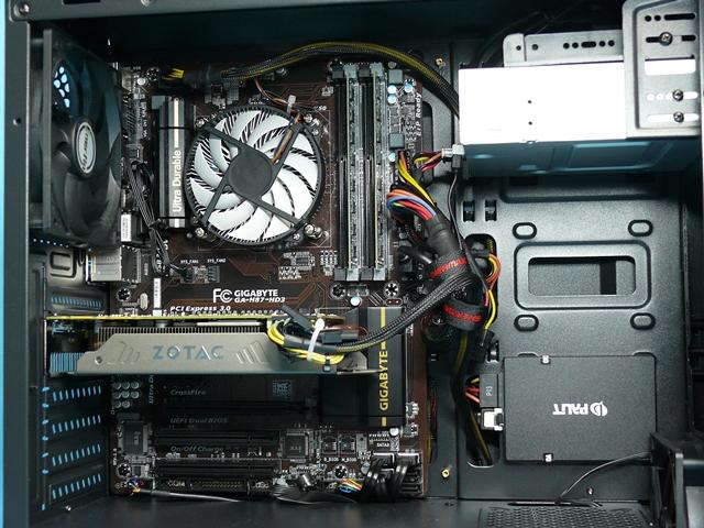 【極上ゲーミング自作PC】GTX970搭載PUBG可! Core i7-4770 3.4-3.9GHz×8/メモリー8G/新品SSD 120G+HDD3TB/Windows10 Pro☆売切り_画像3