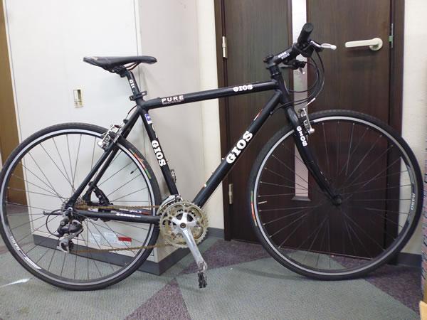 ● 1円スタート 売切り!! ● 中古自転車 GIOS PURE FLAT アルミ クロスバイク 700c SHIMANO ALIVIO 3×8速 スギノ ジオス ピュアフラット
