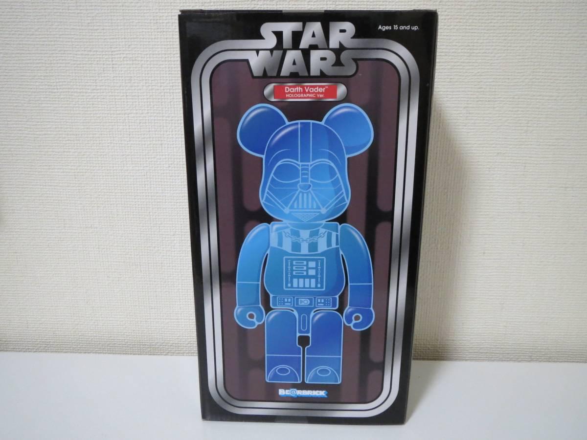 【新品未開封】 BE@RBRICK STAR WARS Darth Vader HOLOGRAPHIC Ver. 400% スターウォーズ ベアブリック ダースベイダー_画像2