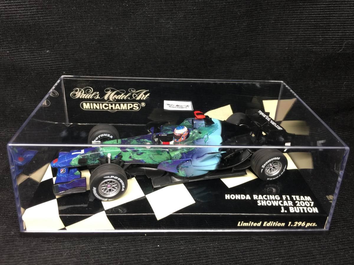 1/43 ホンダ レーシング No.7 2007 F1 ショーカー J.バトン 400070077