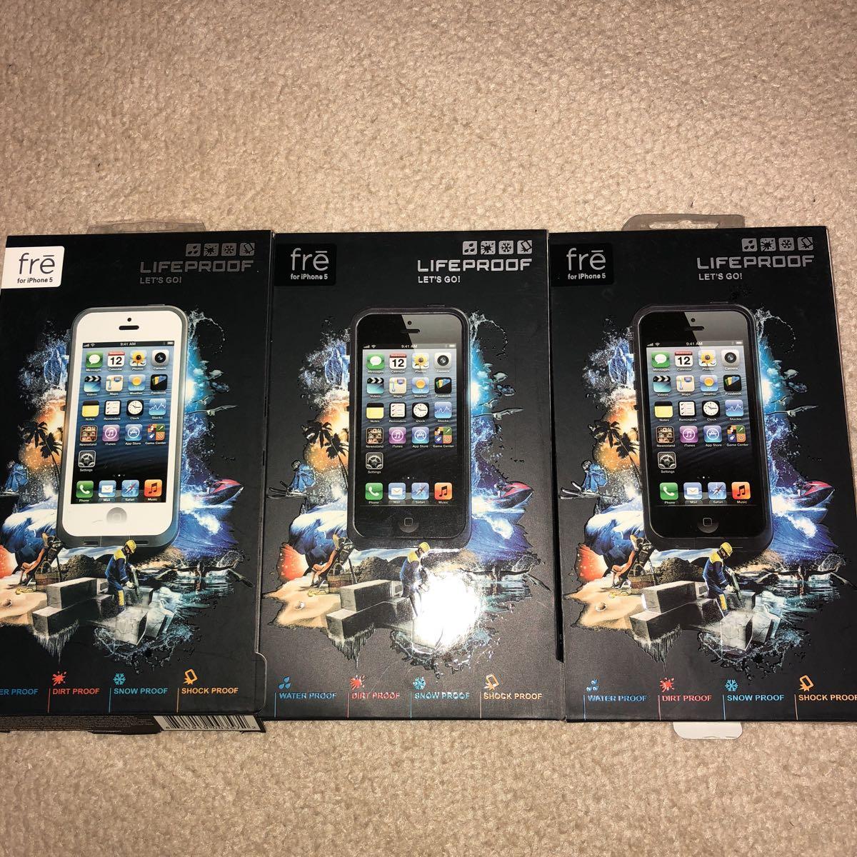 iPhone5 LIFEPROOF 3台セット