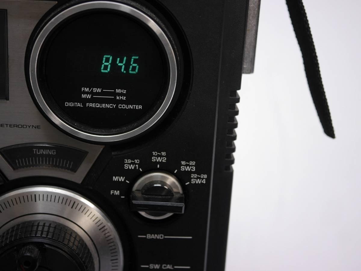 昭和レトロ ナショナル National デジタル表示の BCLラジオ プロシード RF-2600 【美品】_画像2