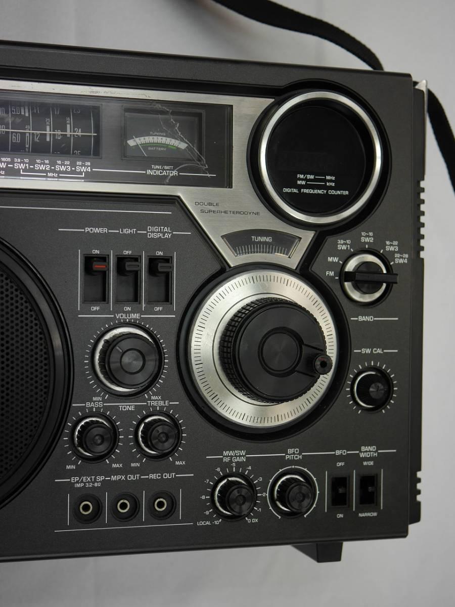 昭和レトロ ナショナル National デジタル表示の BCLラジオ プロシード RF-2600 【美品】_画像8