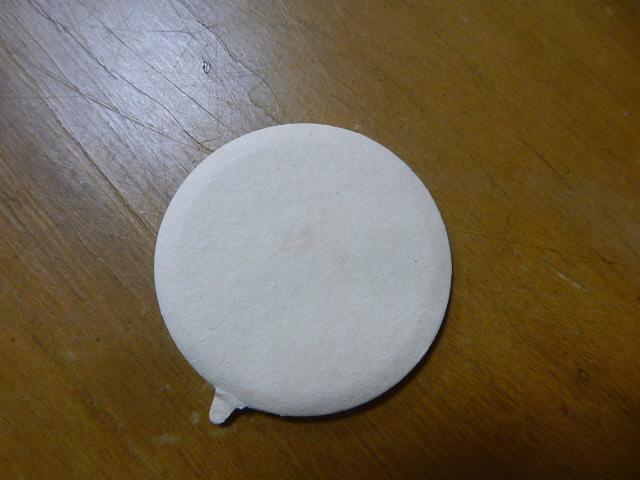 牛乳キャップ 蓋 「江津ラブ」 使用済み_画像2