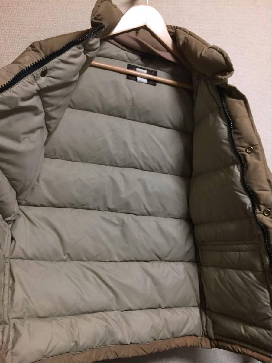 ◆ Eddie Bauer ◆ エディバウアー 70s ビンテージ 希少 良好 黒タグ プレミアムクオリティ 高級中綿羽毛 ダウンジャケット S-M/茶タグ_画像5