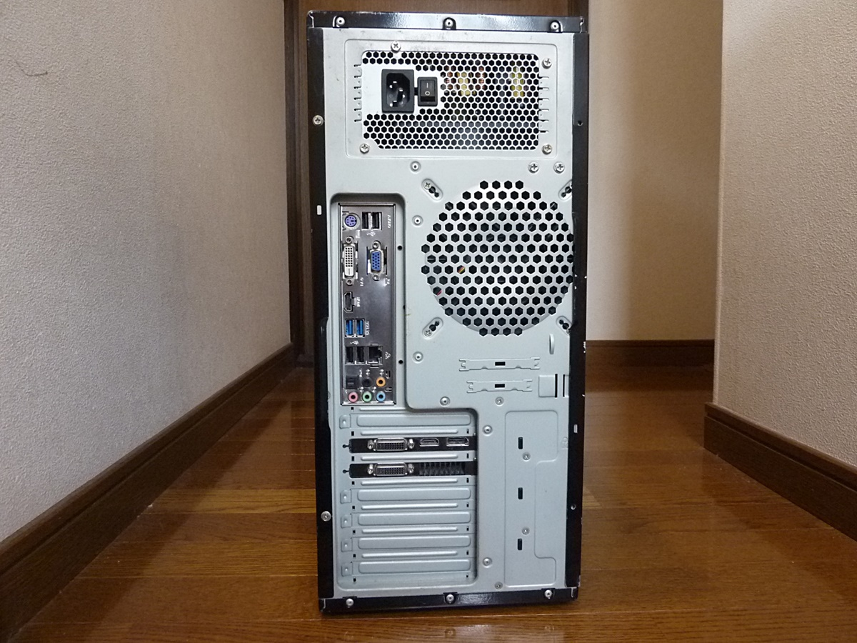 自作 i7-2600 (3.40~ 最大3.80GHz) LGA1155 8GB 1TB H67DE3 GTX560ti DVDマルチ 動作確認済み 即決特典あり_画像3