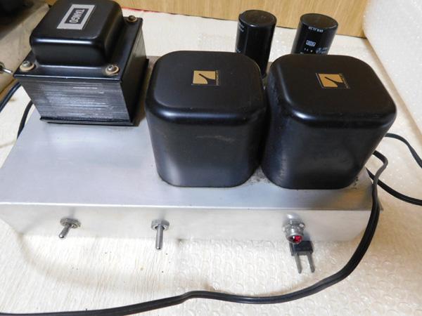 018 自作 電源装置 電源トランス チョークトランス TANNGO LH150 LUX 6BC10 6BC5