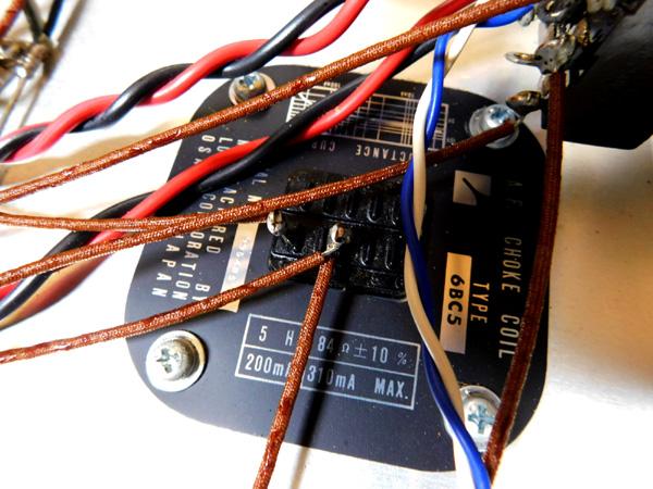 018 自作 電源装置 電源トランス チョークトランス TANNGO LH150 LUX 6BC10 6BC5_画像9