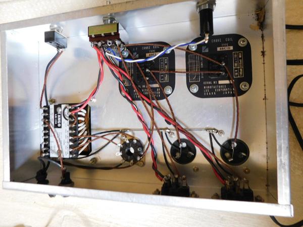 018 自作 電源装置 電源トランス チョークトランス TANNGO LH150 LUX 6BC10 6BC5_画像10