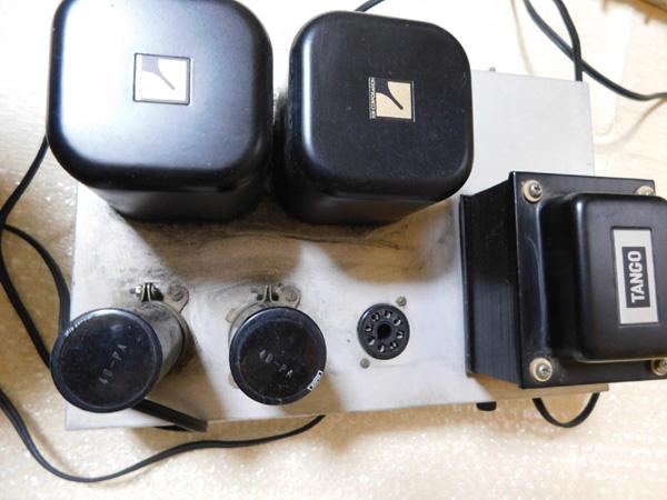 018 自作 電源装置 電源トランス チョークトランス TANNGO LH150 LUX 6BC10 6BC5_画像5