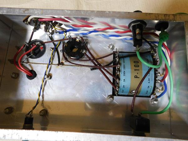 021 自作 電源装置 電源トランス チョークトランス サンスイ 山水_画像7