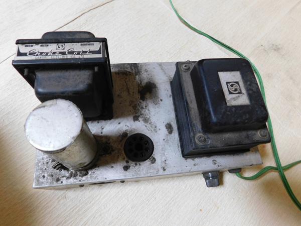 021 自作 電源装置 電源トランス チョークトランス サンスイ 山水_画像10