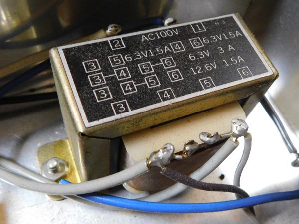024 自作 電源装置 電源トランス チョークトランス LUX TANGO N-12 6BM8 P.P 6AR5 P.P_画像4