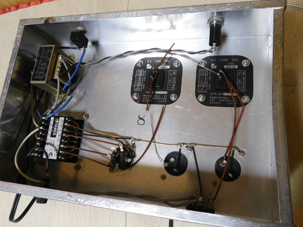024 自作 電源装置 電源トランス チョークトランス LUX TANGO N-12 6BM8 P.P 6AR5 P.P_画像5