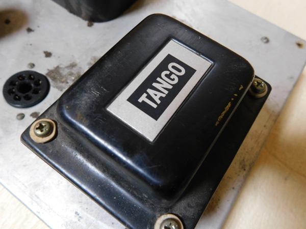 024 自作 電源装置 電源トランス チョークトランス LUX TANGO N-12 6BM8 P.P 6AR5 P.P_画像9