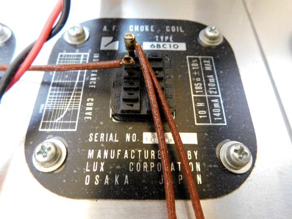 034 自作 電源装置 電源トランス チョークトランス LUX TANGO N-12 6BM8 P.P 6AR5 P.P_画像4