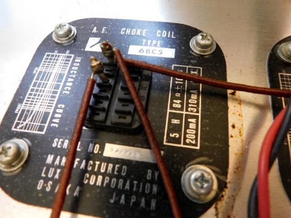 034 自作 電源装置 電源トランス チョークトランス LUX TANGO N-12 6BM8 P.P 6AR5 P.P_画像5