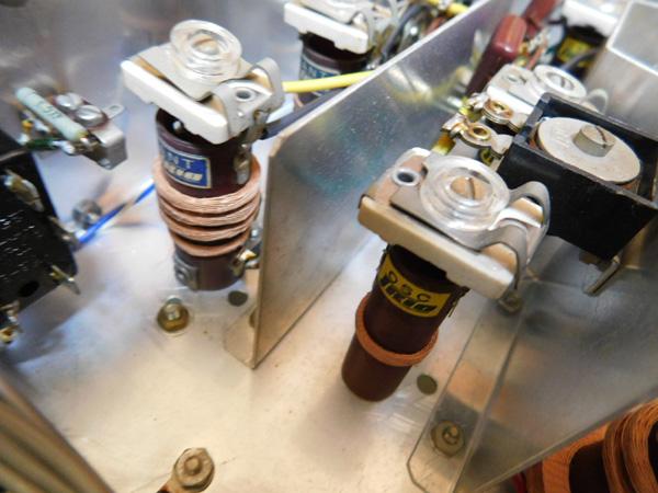 035 自作受信機 コイルパック トリオ バリコン 部品取り 真空管 ラジオ_画像4